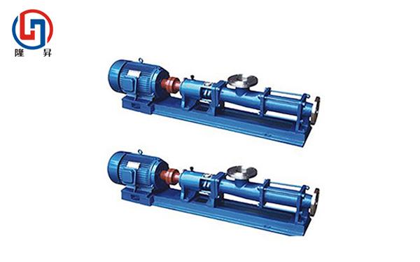 常熟G型单螺杆泵